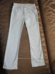 Брюки, штаны летние белые