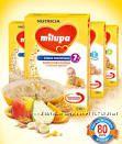 Каши безмолочные молочные  Milupa