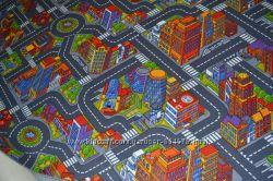 Детский ковролин -Big city-