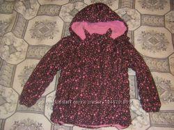 Теплые осенне-зимние куртки Тополино, рост 122-128