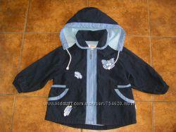 Новые ветровка НМ, деми плащик СА  и пальто, ветровка на малышку 1-3 лет