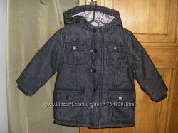 Новая куртка- пальто NKY, Тополино   на мальчика 3-4 лет