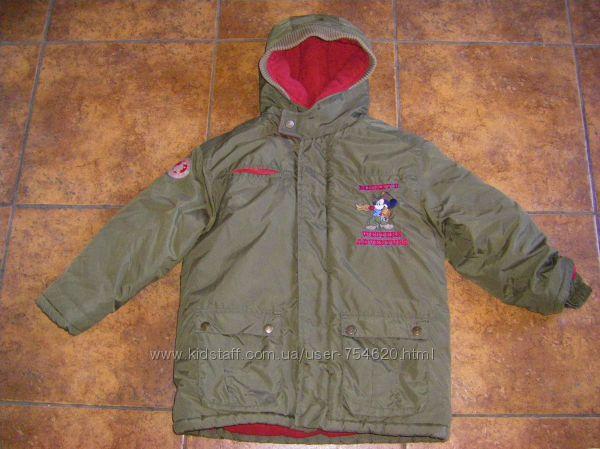 Теплые куртки на 6-7 лет, рост 128-134