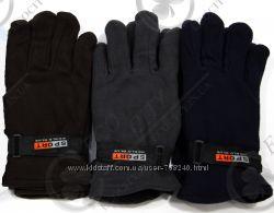 ОПТовая цена в розницу перчатки World Blue из двойного флиса