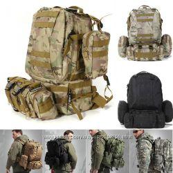 Тактический рюкзак MILLITARY4010лит в подарок ГИДРАТОР