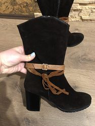 Зимние ботинки сапоги PGV. Размер 39. Стелька 25см.
