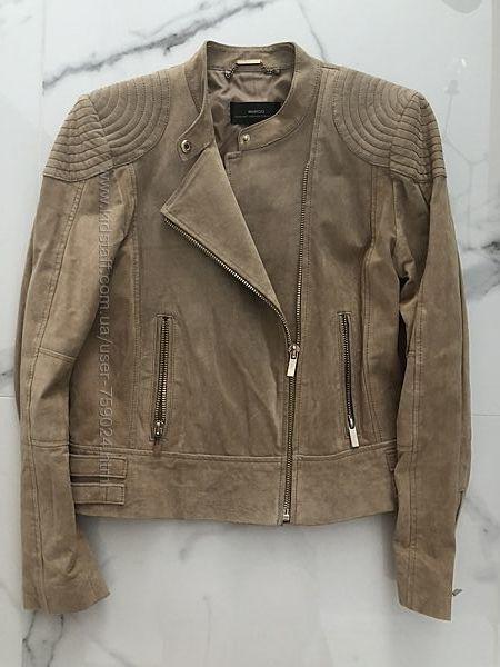 Кожаная косуха куртка MANGO. Размер L.