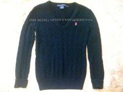 свитер чёрный Ralph Lauren