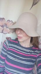 шляпа шикарная, беж