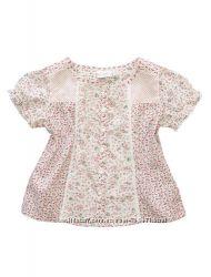 Оригинальная блуза-туничка для малышки. Германия