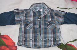 Стильная рубашка Early days 18-24 мес