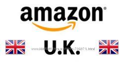 Amazon Англия Выгодные условия, быстрая доставка