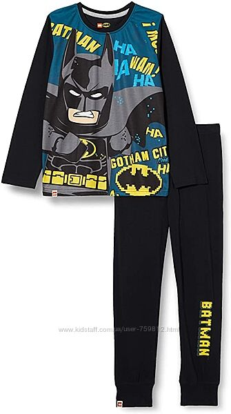 LegoWear домашний костюм, пижама для подростка. Рост 152. Batman