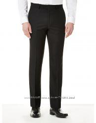 Новые с биркой стильные мужские черные брюки George размер 36 L