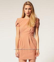 Новое с биркой шикарное платье Asos оттенка нюд 14 UK L наш 48