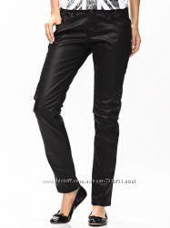 Черные модные брючки из стрейч-коттона m&s размер 20uk