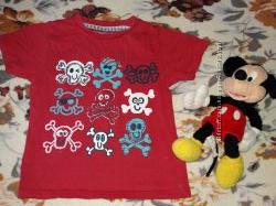 Яркие футболочки на 2-3 годика