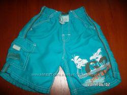 Продам яркие пляжные шорты на мальчика