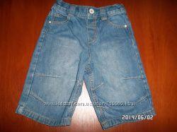 Продам джинсовые шорты на 2-3годика