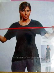 Хорошие женские футболки для спорта йоги р. M, XL от Crane Германия