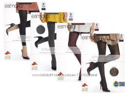 Красивые женские колготки с узором р. S, L от Esmara