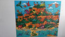 Продам або обміняю  Іргашка на магніті- пазл  Острів динозаврів