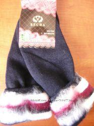Махровые женские носки с начесом Весна р. 37-41. Бамбук.