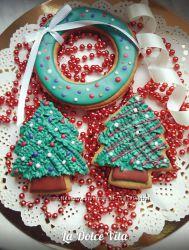 Новогодние наборы имбирного печенья