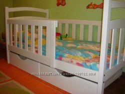 Кровать подростковая  двухъярусные и одинарные  кровати . Ясень, ольха, лип