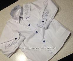 Фирменные нарядные рубашечки для джентельменов 3х лет