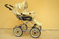 Универсальная коляска Emmaljunga Mondial Duo Combi Vanilla Leatherette