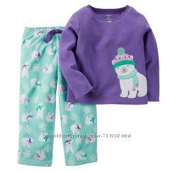 Картерс детская теплая пижама картерс от 2-5лет