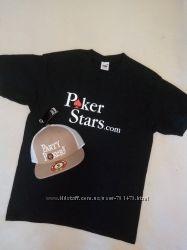 Бейсболки Party Poker.
