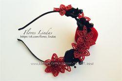 Ободок-корона для волос La Venice