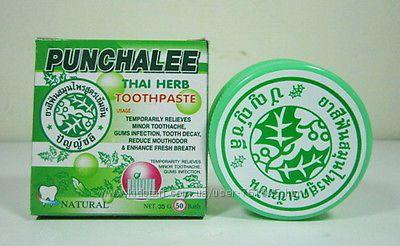 Тайская зубная паста 10 трав