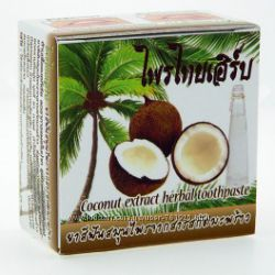 Зубная паста с экстрактом кокоса и маслом гвоздики