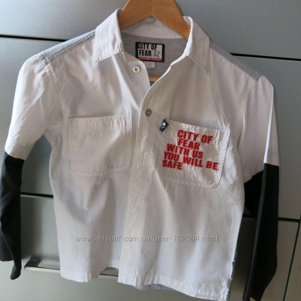 Рубашка фирменная Wojcik для мальчика рост 128