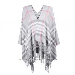 Женский шарф-пончо