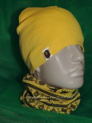 Трикотажные шарфики- хомутики Оленята
