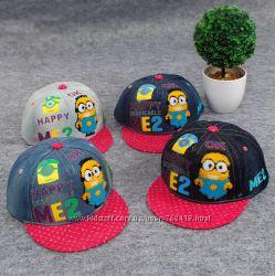 Джинсовые кепки, реперки, бейсболки