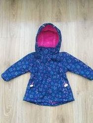 Крута куртка Ergee 9-12m стан ідеальний