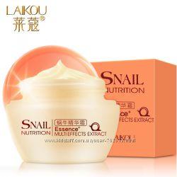 Крем для лица с экстратом улитки Laikou Snail Nutrition Multi Effect