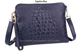 Модные сумочки-клатчи из натуральной кожи