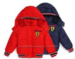 Модненькие курточки, красная и тёмно-синяя