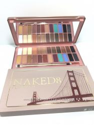 Тени Urban Decay Naked 8, палетка на 24 цвета