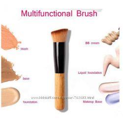 Кисть для макияжа многофункциональная, универсальная, косая-копытце