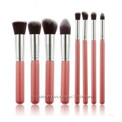 Кисти для макияжа  8шт, набор профессиональных кистей для макияжа