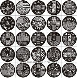 Пластина диск для стемпинга серии AP , 28 видов