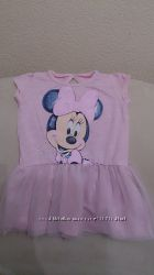 Early days платье с Minnie Mouse, на 9-12 мес