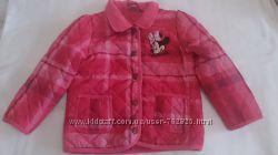Демисезонная куртка DISNEY с Minnie Mouse на 3-4 года